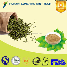 Trade Assurance supplier for Anti-aging skin care Green Coffee Bean P.E. 50% Chlorogenic Acid