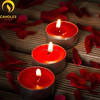 wholesale decorative wax white and colorful tealight candles