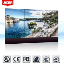 3x3 lcd video wall display with 5.3mm ultra narrow bezel