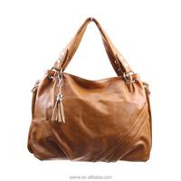 Best sale good quality fahsion design lady handbag PU leather bag shoulder bag