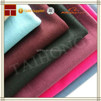 alibaba express high quality heavy cotton blended twill fabric for pants