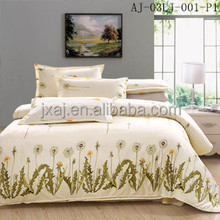 Fashion print bedding set