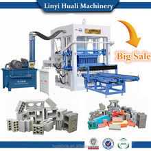 Automatic brick machine sale in Myanmar QT4-15 brick machine for Myanmar