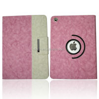 Rose Hybrid PU Leather 360 Rotating Degree For Apple iPad Case Air Mini 2/3/4 Magnetic Smart Cover Case Factory Wholesale Hot