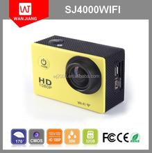12MP Photo Resolution Full HD 1080P Action Camera Sports DV Helmet Camera SJ4000wifi