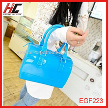 New arrival hand bags for ladys transparent crystal handbag