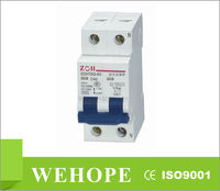 Competitive price DZ47-63GQ over-voltage protection circuit breaker,300 amp circuit breaker