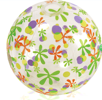 clear pvc inflatable beach ball inflatable transparent beach ball for children game