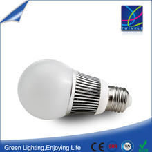 50000 hours working time e27 330 degree 5w led bulb w/ww/nw for house