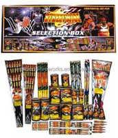red devil 601 selection box fireworks for UK markets Best sale