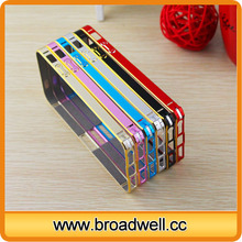 Good Quality Two Colors Aluminum Bumper Case Cheap Mobile Phone Accessory