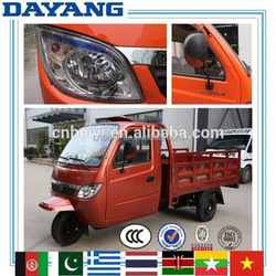 China Chongqing Egypt 200cc closed cabin 200cc adult cargo tricycle made in China