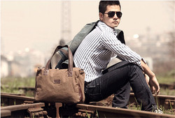Wholesale Durable Travel Bag Fashion Canvas Duffle Bag