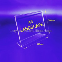 hot products for united states Budget Priced a3 size Acrylic Menu Holder A Landscape SINGLE SIDED