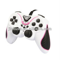 JH-601 usb vibration 3 in 1 gamepad for PC, PS2, PS3