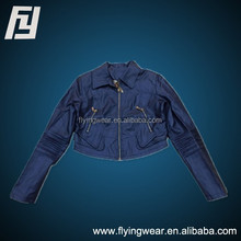 2015 Popular Genuine Leather Jacket for ladies