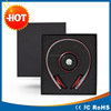 Promotional Business Gift Set Use Luxury Black Gifts box including bluetooth speaker and bluetooth headphone