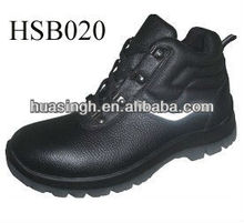 own factory design hard workshop industrial steel toe safety shoes with reflective tape