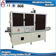 Multi-functional automatic single color screen printing machine for Round's shape products in glass, plastic, ceramic, metal