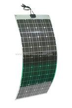 2015 New design 12V semi flexible solar panel 100W 120W