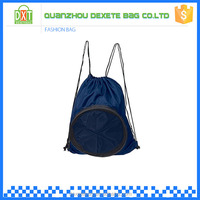 Custom cheap sport see through drawstring basketball backpack