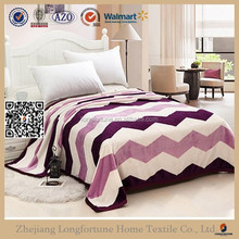 hot china products wholesale fleece mexican blanket QZW030