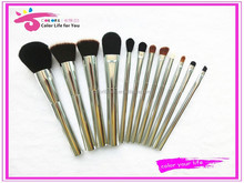 artist cosmetic brush set metal makeup brushes synthetic factory direct free samples
