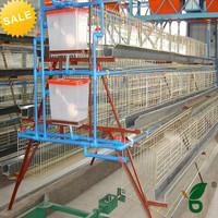 multi-tier layer chicken cages best sale in Kenya farm