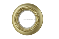 2015 Hot Sale YiBo 820 series 43.5mm Inner Diameter ABS Ring Curtain Decors Plastic Eyelet for Curtain