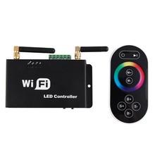 DC5V DC12V DC24V WIFI RGB Controller,IOS System LED WIFI Controller