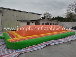 Inflatable Soft Mountain for outdoor kids games,PVC bounce mountain for kids
