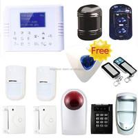 2015 smart appliance GSM LCD wireless home alarm system ,dualnet wireless pstn home gsm alarm with sim card burglar alarm system