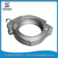 concrete pump flexible hose coupler / concrete pump Snap Couplings for concrete pumping systems