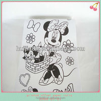 2015 printed cartoon paper roll for children