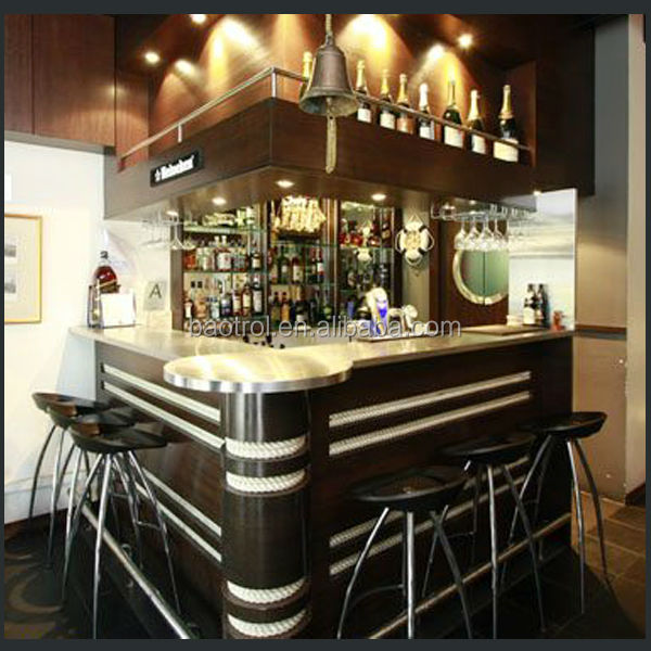 Classic Style Bar Furniture Bar Counters Design/wood Mini Bar ...