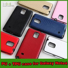 Crocodile Mobile Phone Cover TPU Case For Samsung Galaxy Note 4