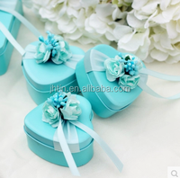 alibaba china dongguan wholesale wedding favor tin/wedding box/wedding invitation box