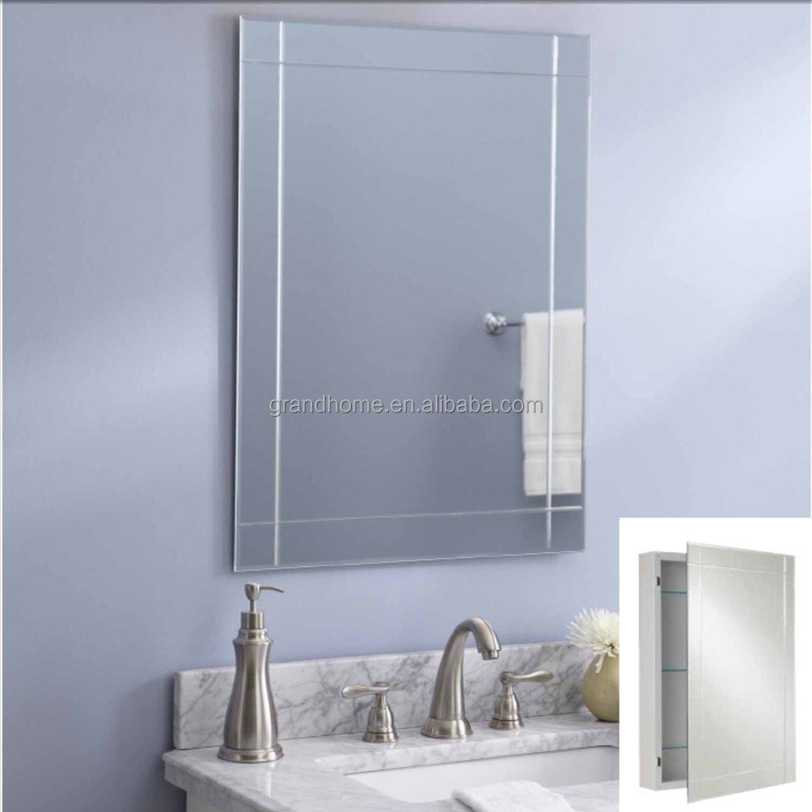 metal mirror bathroom recessed medicine cabinet buy medicine cabinet