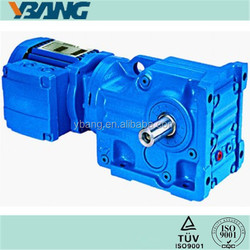 K series Helical Bevel Gearbox Worm Drive Electric Motors