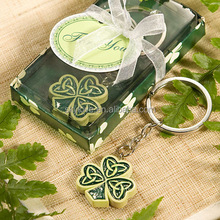 Lucky Clover Shaped keychian for Promotional Gifts
