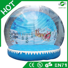 2015 Brand New Design Hot sale christmas Snow ball, White christmas commodity, christmas party decoration