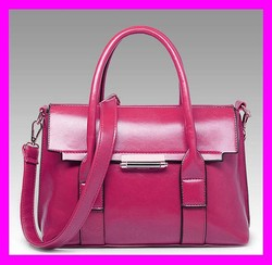 2015 Fashion shoulder bags elegant ladies handbags pink leather bags supplier in china HD2871
