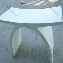 mushroom acrylic vanity stool sitting stool for kids