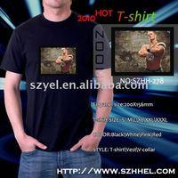 100% cotton el qualizer animation custom design music fashion t-shirt online shopping