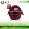 BSCI qq pet wholesale dog house & plush fabric cat house & japan indoor cat house
