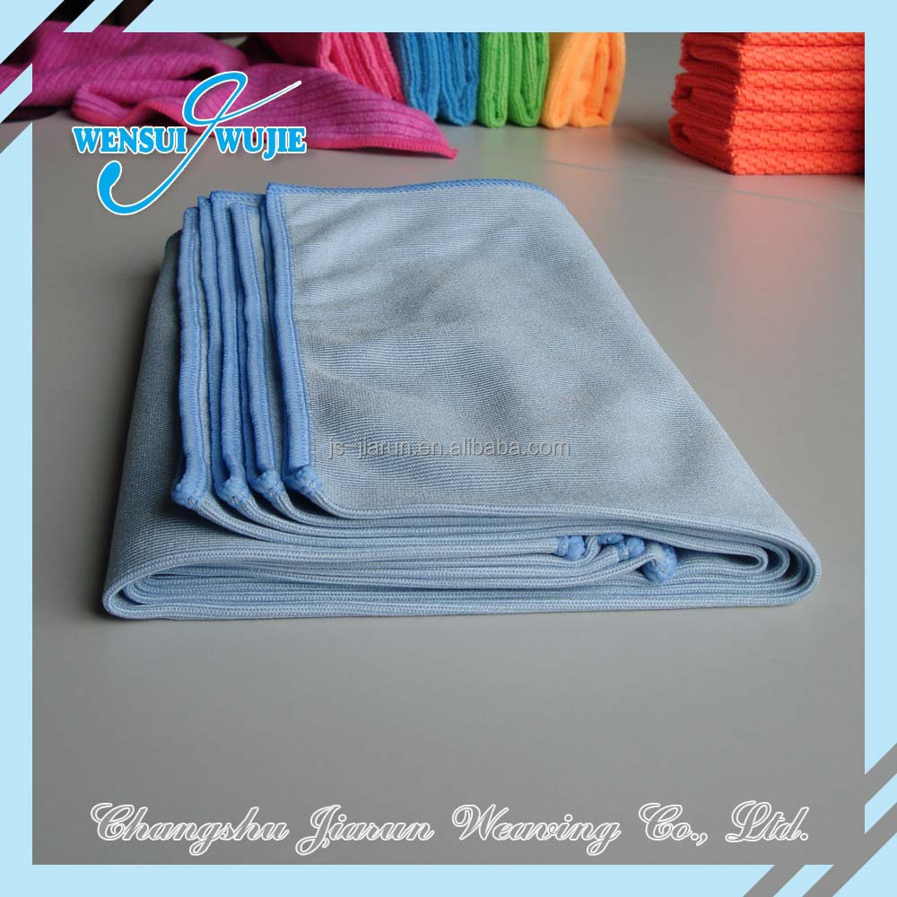 Promotioin towels window cleaning rags microfiber glass for Glass cleaning towels