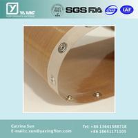 Professional flat canvas conveyor belt