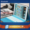 Leather case 9.7 tablet pc bluetooth keyboard for iPad 4 factory