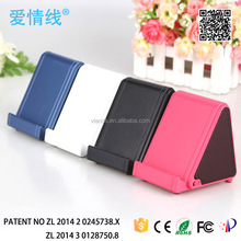Magical Sound Near Field Audio Amplifying Mutual Induction Speaker for iPhone 5 4 4S 3GS Samsung HTC LG Smart Phone black