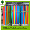 factory wholesales broom stick wood brush mop handle poles for cleaning tools